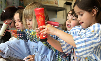 Kinderkunstwerkstatt & -ateliers