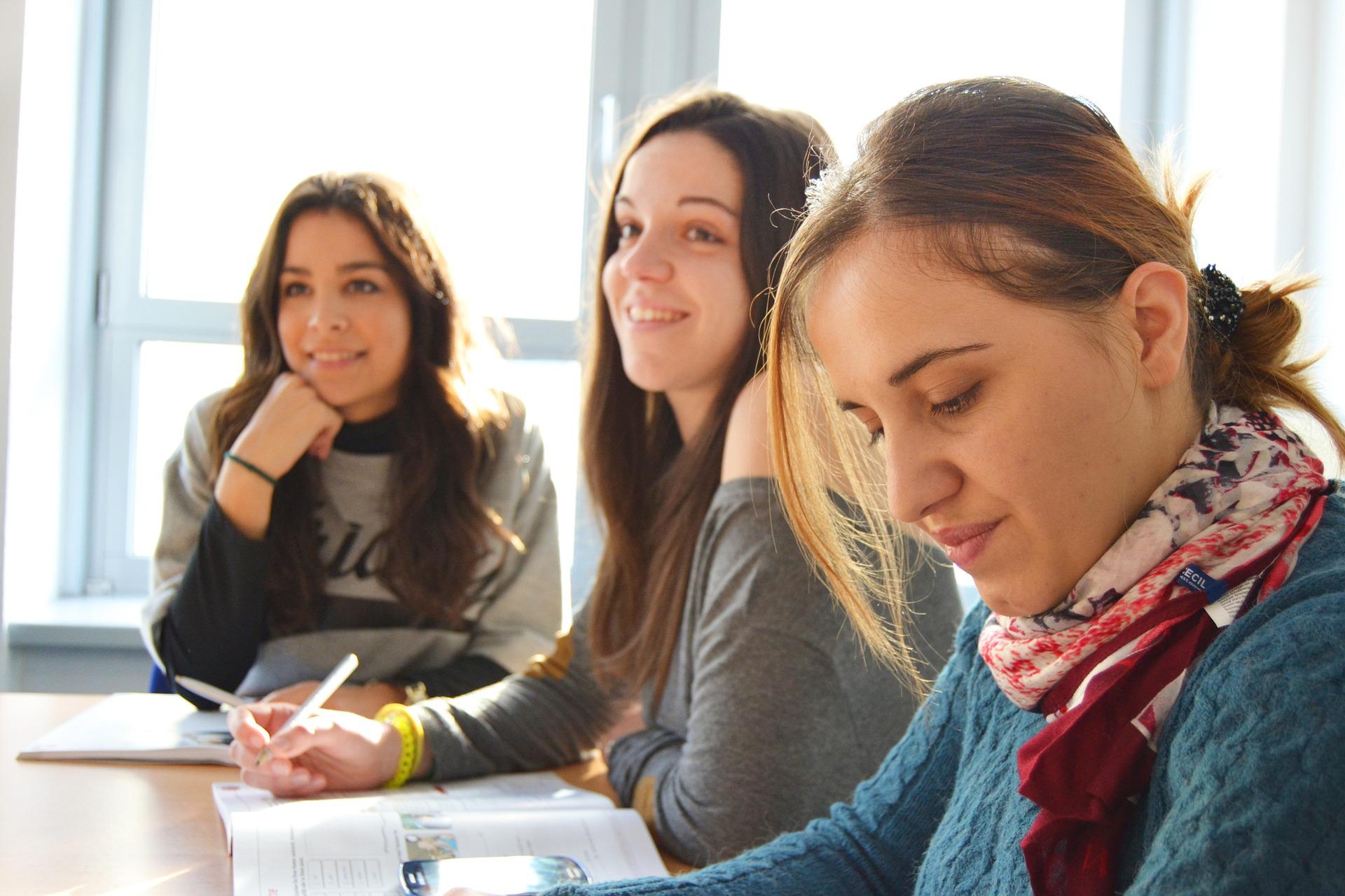 Lernende Frauen