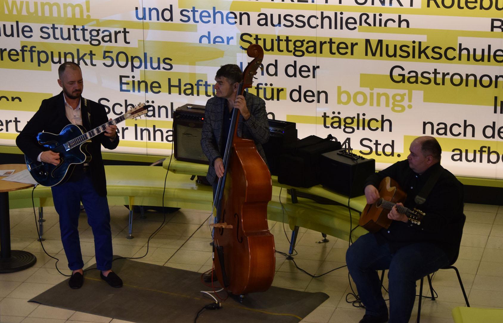 Musiker Trio