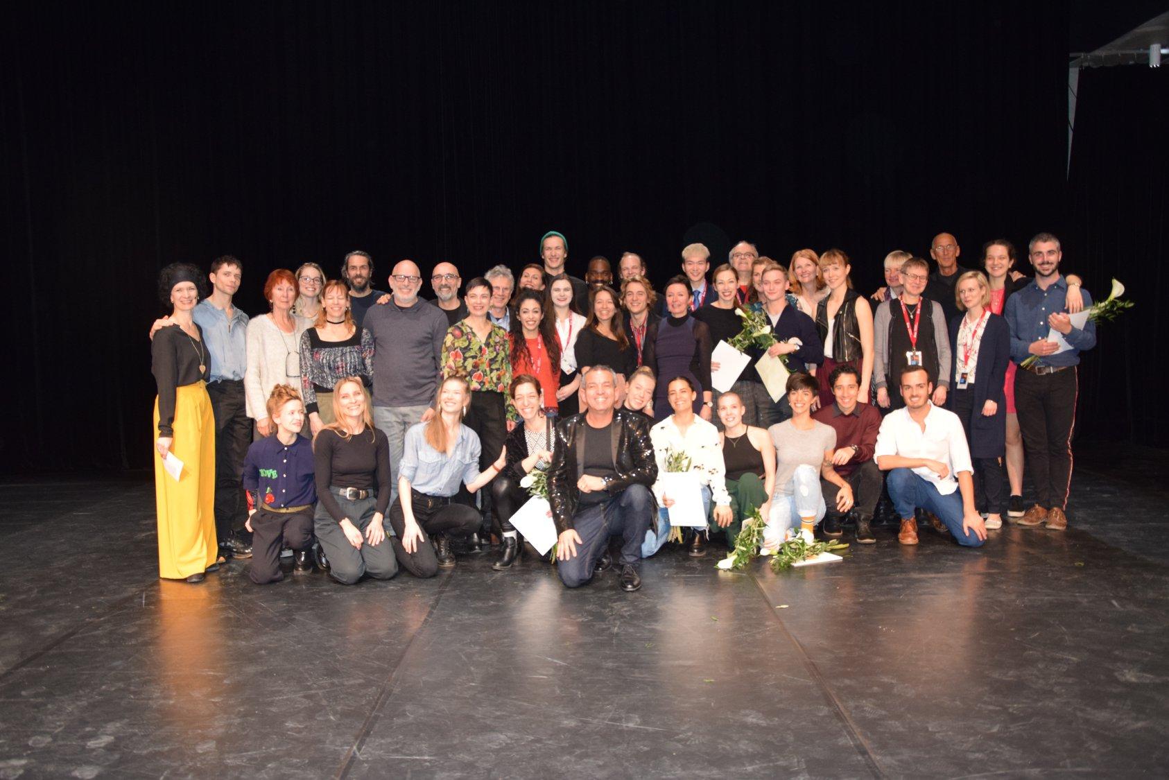 Teilnehmer/innen des 23. Solo-Tanz-Theater Festivals