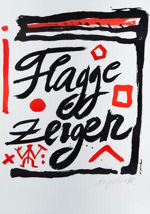 Bild Flagge zeigen