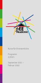 Broschüre frEE Akademie (Sep 2021 – Feb 2022)